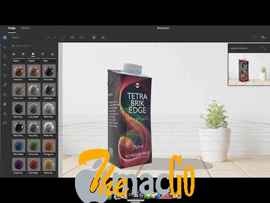 Adobe Dimension CC 2018 mac dmg full version themacgo