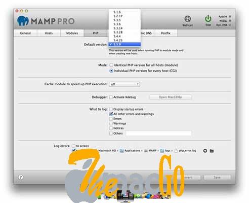 MAMP pro 5 mac dmg full version themacgo