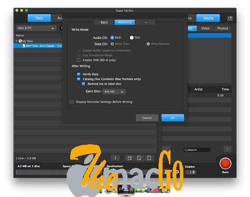Roxio Toast Titanium 17 mac dmg full version themacgo