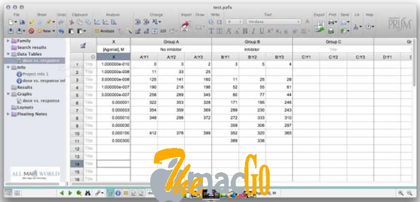 GraphPad Prism 8 for mac free download themacgo