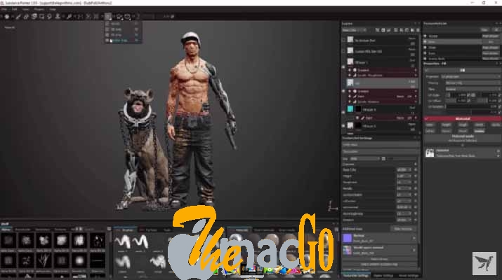 Allegorithmic Substance Designer 2019 mac dmg full version themacgo