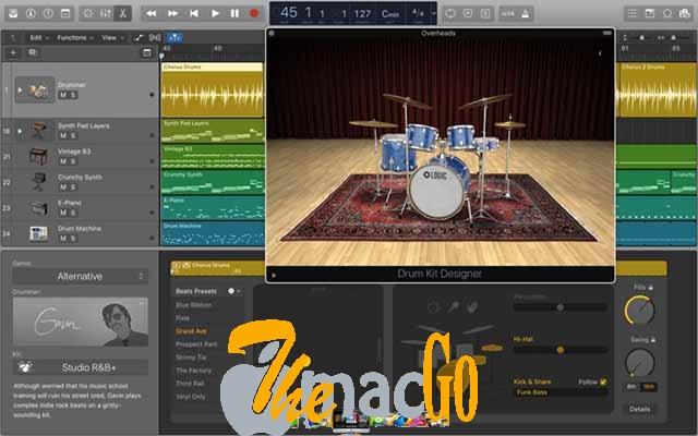 Apple Logic Pro X 10.3.2 DMG Mac Free Download [1.2 GB] themacgo