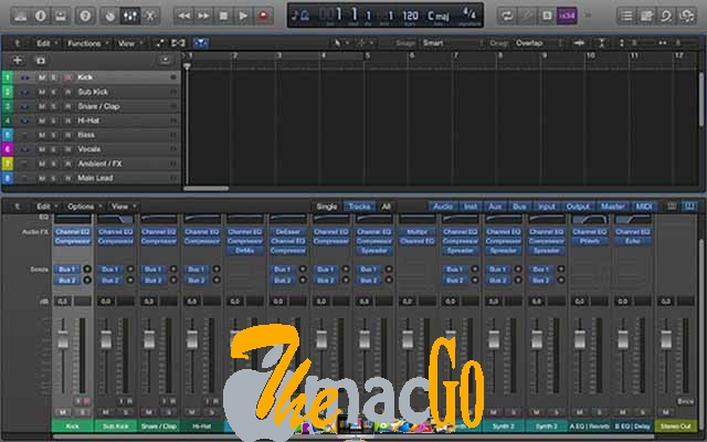 Apple Logic Pro X 10 mac dmg full version themacgo