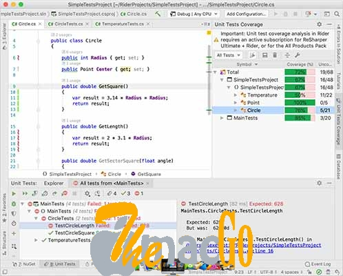 JetBrains Rider 2019 for mac free download themacgo