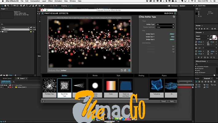 Red Giant Trapcode Suite 15 for mac free download themacgo