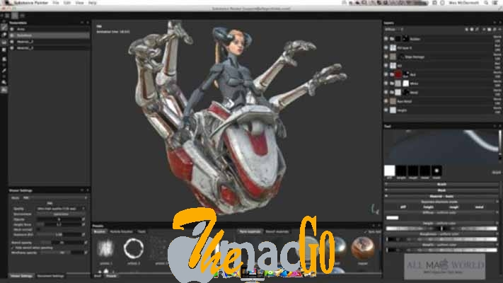 Substance Painter 2019 DMG Mac Free Download [2 1 GB] - The Mac Go
