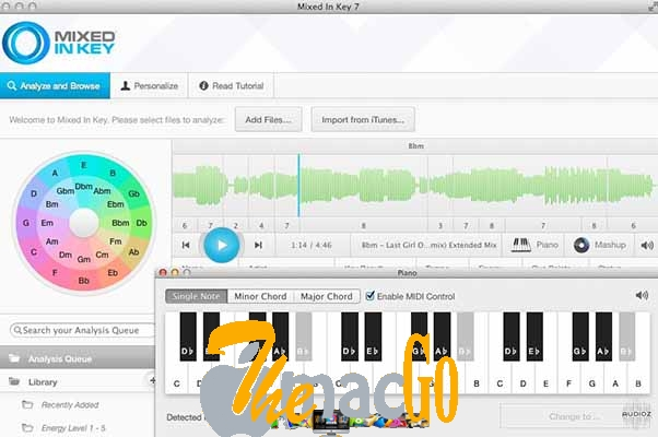 Mixed In Key 7 for mac free download themacgo