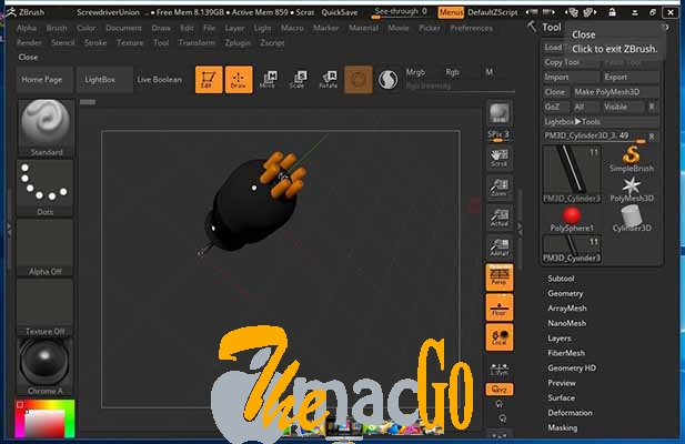 Pixologic ZBrush 2019 for mac free download themacgo