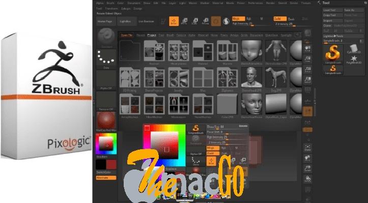 Pixologic ZBrush 2019 mac dmg full version themacgo