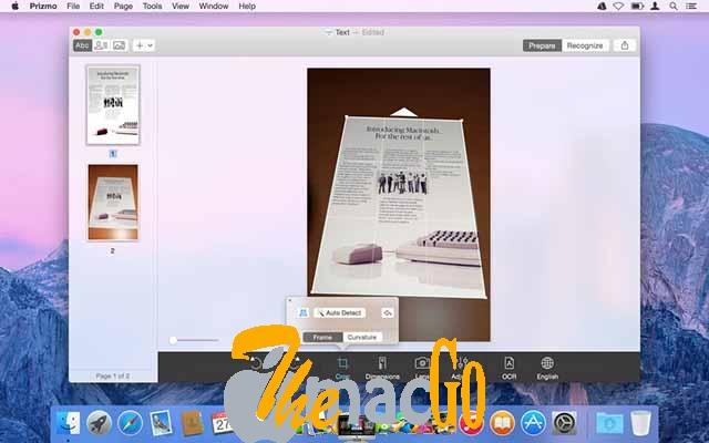 Prizmo Pro SCANNING & OCR 3 mac dmg full version themacgo