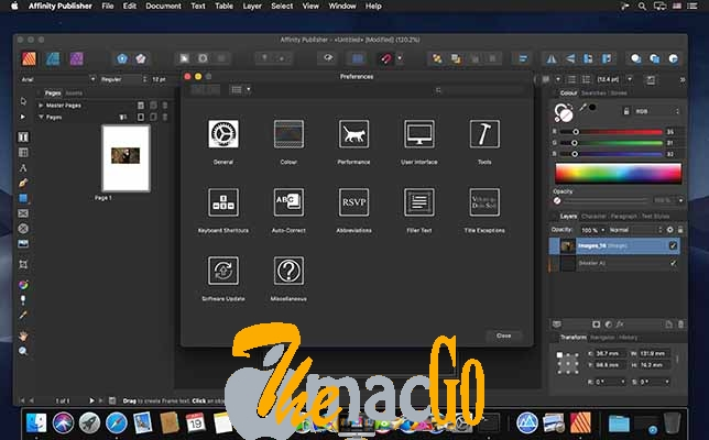 Affinity Publisher CR3 mac dmg full version themacgo