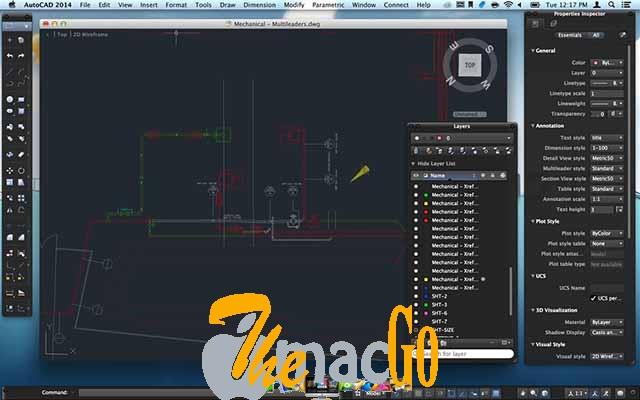 AutoCAD 2020 mac dmg full version themacgo