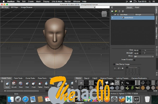 Autodesk Mudbox 2019 mac dmg full version themacgo