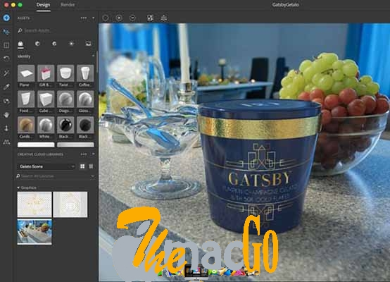Adobe Dimension CC 2019 for mac free download themacgo
