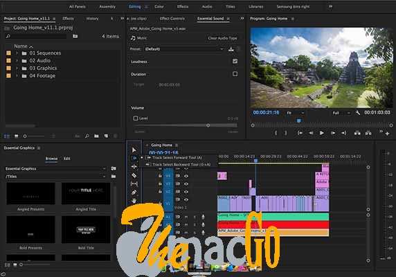 Adobe Premiere Pro CC 2018 for mac free download themacgo