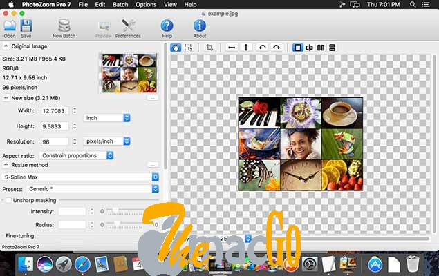 Benvista PhotoZoom Pro 7 for mac free download themacgo