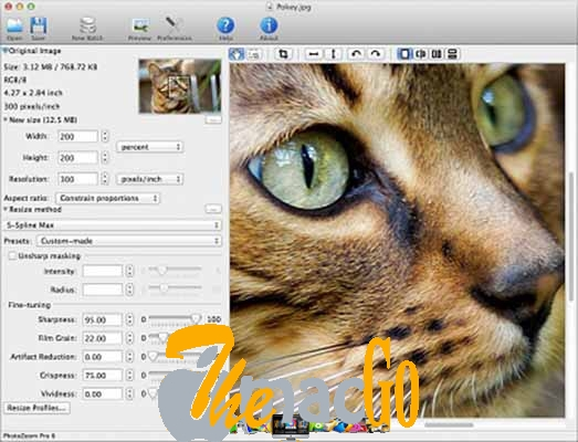 Benvista PhotoZoom Pro 7 mac dmg full version themacgo