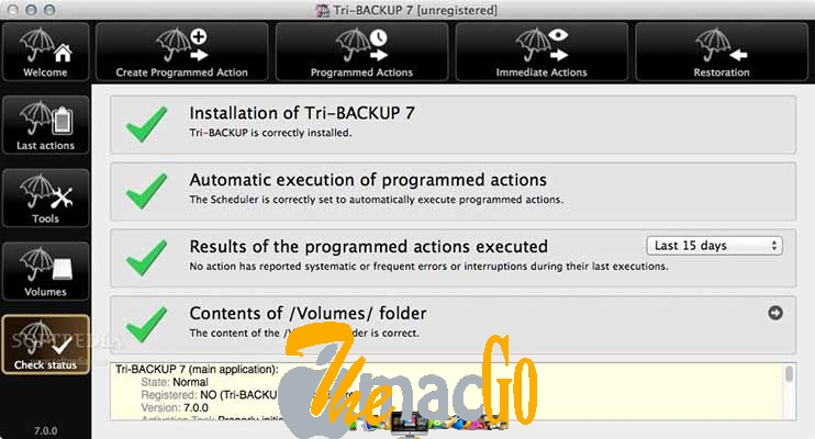 Tri-BACKUP Pro 8 for mac free download themacgo