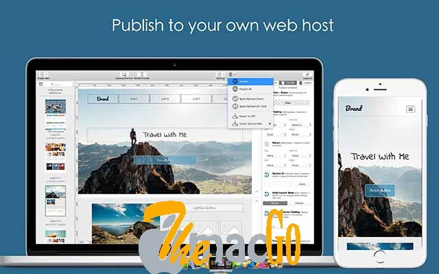 Wolf Landing Page Designer for mac free download themacgo