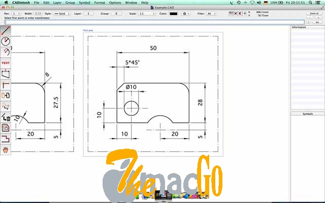 CADintosh X 8_5 mac dmg full version themacgo
