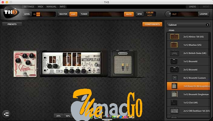 Overloud TH-U Complete v1 mac dmg full version themacgo
