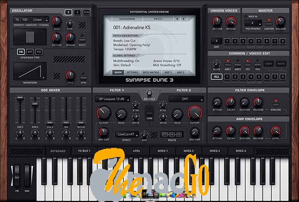 Synapse Audio DUNE v3-2 for mac free download themacgo