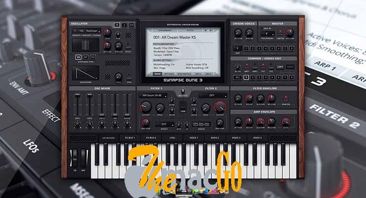 Synapse Audio DUNE v3-2 mac dmg full version themacgo