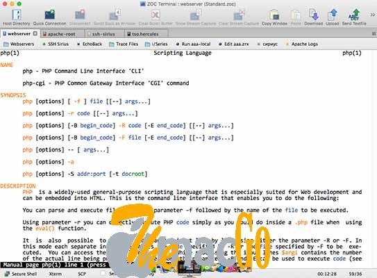 ZOC Terminal 7-2 for mac free download themacgo