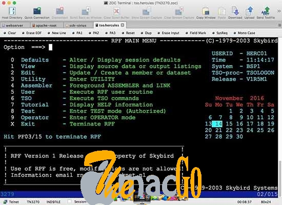 ZOC Terminal 7-2 mac dmg full version themacgo