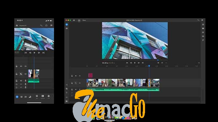 Adobe Premiere Rush CC 2019 mac dmg full version themacgo