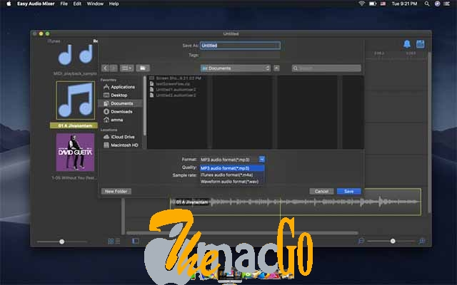 Easy Audio Mixer 2_5 for mac free download themacgo