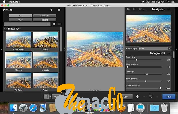 Exposure Software Snap Art 4 mac dmg full version themacgo
