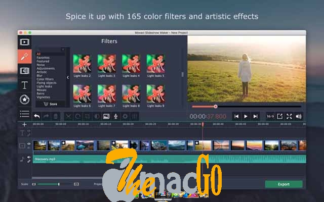 Movavi Slideshow Maker 6 for mac free download themacgo