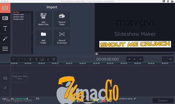 Movavi Slideshow Maker 6 mac dmg full version themacgo