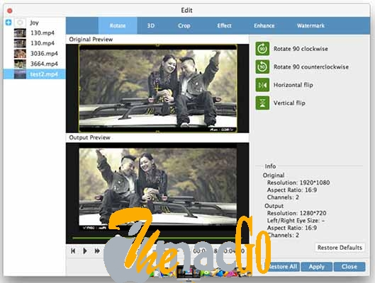 Tipard Mac Video Converter Ultimate 9_2 for mac free download themacgo
