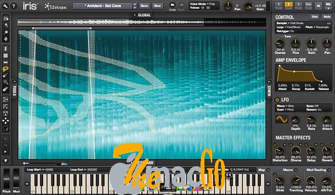 iZotope Iris 2 v2 for mac free download themacgo