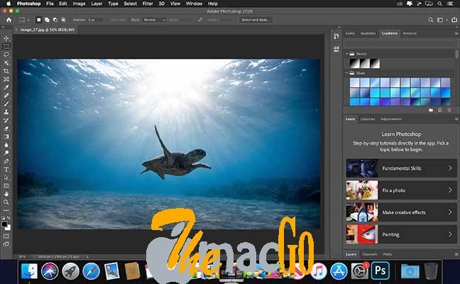 Adobe Photoshop 2020 mac dmg full version themacgo