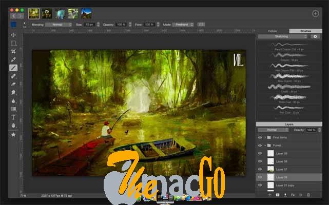 Artstudio Pro 2_3 mac dmg full version themacgo