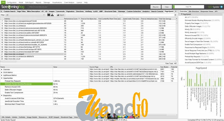 Screaming Frog SEO Spider 12 mac dmg full version themacgo