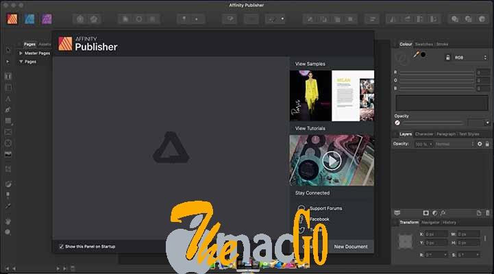 Affinity Publisher Beta 1.8.0 mac dmg full version themacgo