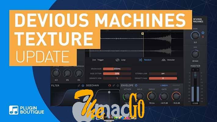 Devious Machines Texture 1-5 dmg for mac themacgo