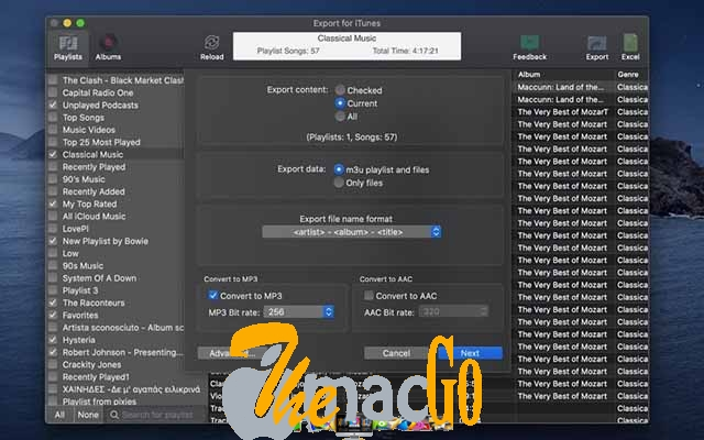 Export for iTunes 1-9-74 for mac free download themacgo