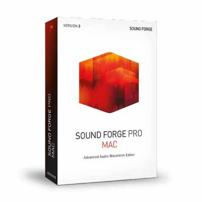 MAGIX SOUND FORGE Pro Suite 13 dmg for mac themacgo
