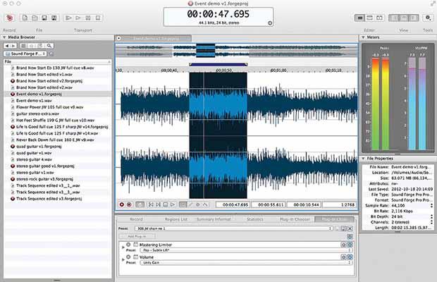 MAGIX SOUND FORGE Pro Suite 13 mac dmg full version themacgo