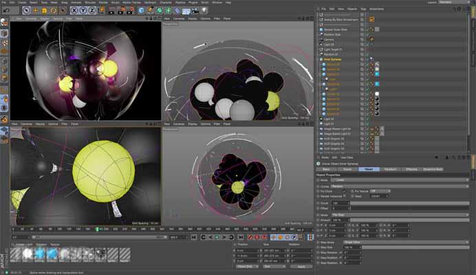 Maxon CINEMA 4D Studio R21_207 for mac free download themacgo
