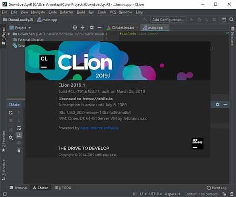 JetBrains CLion 2019 for mac free download themacgo