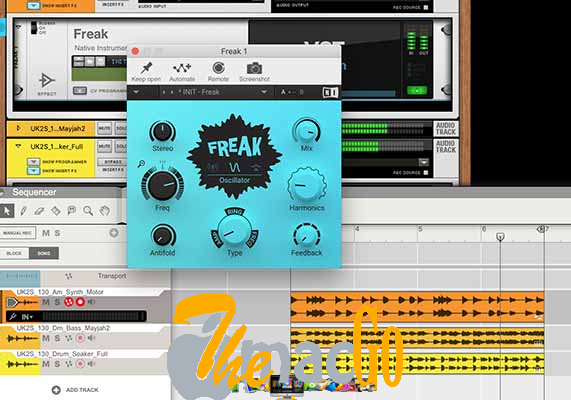 Native Instruments Freak 1_1_0 for mac free download themacgo