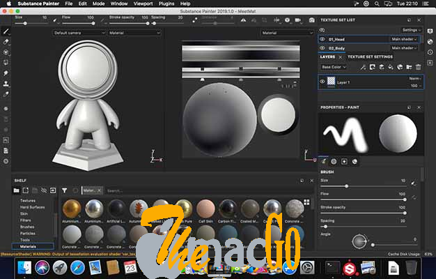 Allegorithmic Substance Painter 2020 622 for mac free download themacgo