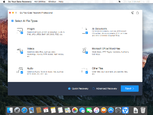 Do Your Data Recovery Professional 6_8 download free themacgo
