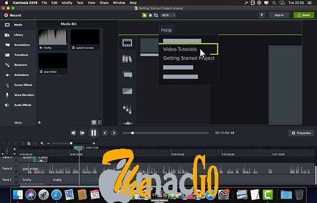 TechSmith Camtasia 2020_0_10 mac dmg full version themacgo